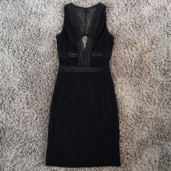 M Boutique by Blue Crush Lace Cutout Bodycon Dress